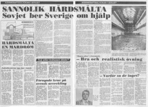 Arbetarbladet, 30 april 1986.