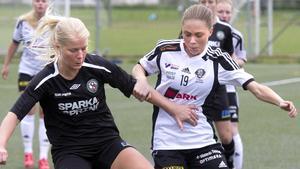 Marie Segerholm är tillbaka i startelvan på grund av att Elin Hammar har varit sjuk under veckan.