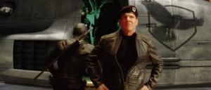 "GI JOE. Dennis Quaid som General Hawk i ""GI Joe: The Rise of Cobra."""
