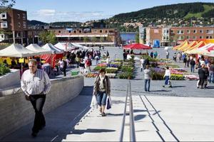 Den europeiska marknaden pågår på Stortorget fram till måndag.