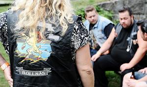 Så gott som alla hade en skinnväst med Bollnäs Bright River Cruisersloggan på under årets summer meet.