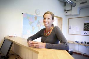 Karin Ramström märker att företagen är seriöst intresserade av att anställa flyktingar.