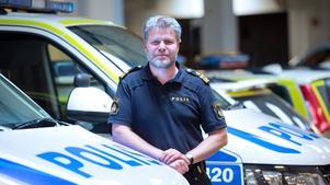Nye lokalpolisområdeschefen Peter Nylind (känd som den twittrande polisen).