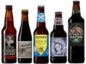 En laddning nya exklusiva öl lanserades på Systemet 6 november – de finns bara i små volymer och brukar snabbt ta slut. Finns de inte i din systembutik så kan de beställas utan kostnad. På bilden de allra bästa köpen.