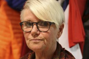 Yvonne Oscarsson (V) ser gärna att ett framtida omsorgboende byggs på Östernäs.