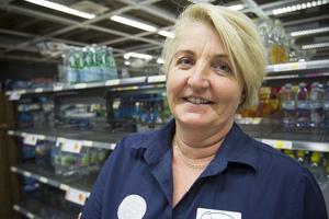 Butikschef Inga Åstrand lyckades få tag i en leverans till som kommer under fredagen..