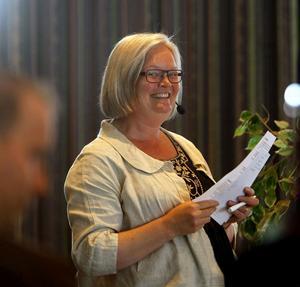 Verksamhetschef Reidunn Wettermark tyckte att deltagarna vid länsstrokedagen kom med många värdefulla idéer kring hur vården kan bli bättre