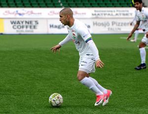 Rawez Lawan missar matchen mot Åtvidaberg.