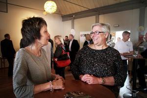 Ann-Christin Hult, administratör, och Anne Willman, vd, från Talent plastic i Laxå fanns på plats under Näringslivsdagen för att nätverka och mingla med företagare och kommunen.