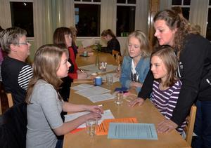 Elin Eriksson, Kristin Gruving och Matilda Ståhlvinge hör sig för lite med Erika Jernberg om olika alternativ. Elin väljer sedan Paulusgruppen, Kristin och Matilda väljer äventyrsgruppen.