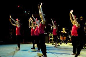 Dansgrupperna bjöd på många fantasifulla koreografier och genomtänkta scenkläder.
