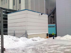 Byggnaden där utsläppet skedde. Foto: Tony Persson