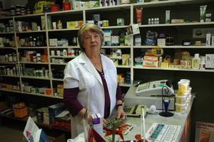 DRAGHJÄLP. När apoteket tillfälligt flyttade in vägg i vägg med hälsokostaffären befarade Anita Zetterström en nedgång. Men det blev tvärtom.