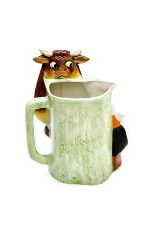 Mjölkkannan som har ett utseende framifrån...