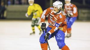 Västanfors lagkapten Petter Andersson.