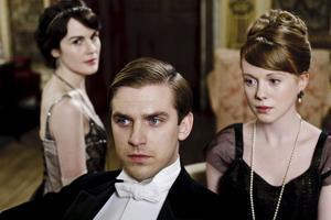 """Kostymspecial. I mellandagarna visas ett specialavsnitt av kostymdramat """"Downton Abbey"""" i SVT 1. Foto: NBC/SVT"""