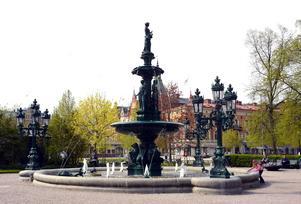 Fontänen i Vängåvan av Sofia Gisberg (1854-1926).