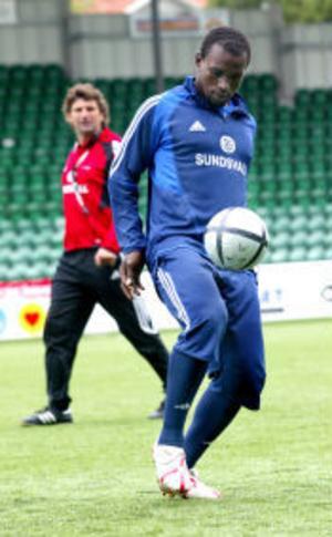Ali Gerba är nu helt klar för allsvensk debut mot Kalmar FF på söndag.