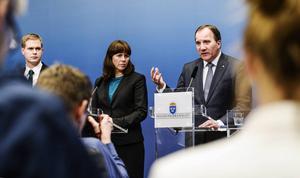 Såväl Miljöpartiets Åsa Romson som Socialdemokraternas Stefan Löfven kan nu tänka sig att fortsätta det militära samarbetet med Saudiarabien.