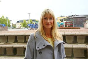 Rachel Potter, känner sig hemma i Östersund och är glad för att det blir minst tre år till.