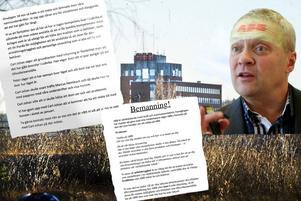 Lyhörd ABB-chef när namninsamling för färre inhyrda på verkstäderna lämnades över till Carl-Johan Linér