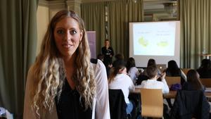 Josefin Liv, projektledare på Sveriges Elevråd.