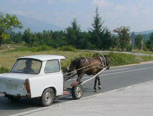 Bilden tagen 1987  D D R  .....På  väg till ITALIEN