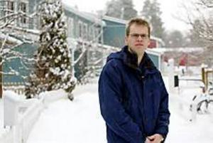 Sven Gunnar Hultman, pastor i Gävle Pingstförsamling, tror inte att morddramat i Knutby kommer att påverka allmänhetens syn på Pingströrelsen. - Jag tror att folk ser på det mer som ett svartsjukedrama, säger han. Foto: LASSE HALVARSSON