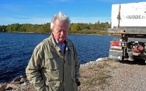 Sune Garmo varnar att fisket i Siljan hotas. Foto:
