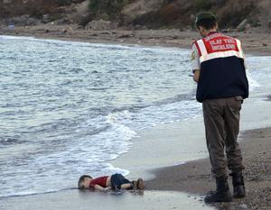 Alan Kurdi, treåringen som fick omvärlden att förstå vidden av döden på Medelhavet.