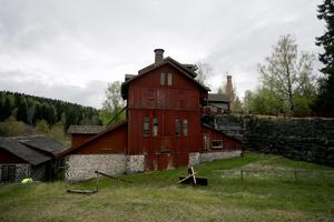 Granbergsdals hytta är en av många byggnader i Bergslagen som delvis är byggd av slaggsten.