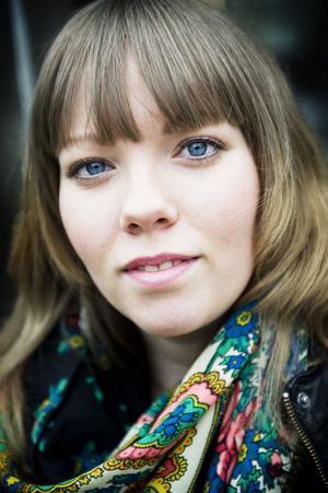 Poeten Jenny Wrangborg är en av deltagarna i helgens ordfestival i Borlänge.