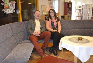 Robert Thunfors och Lotta Borg är de två första namnen i det nya partiet Nätverk Timrå. Partiet ställer upp i kommunvalet i höst.