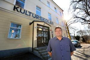 Foto: Anders Sjöberg Kulturskolans rektor John-Michael Långs hade bokat en telefonintervju med NT på måndagen. Senare fick han beskedet att han inte får uttala sig.