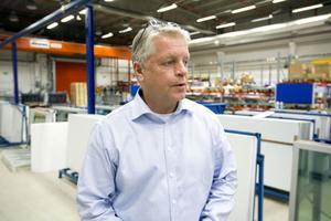 Lars Kronberg, platschef på Cibes Lift i Gävle.