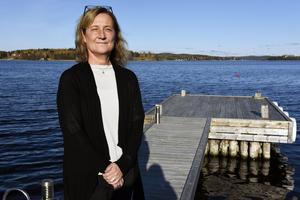 Carina Nordström Sköld har byggt sitt drömboende vid havet i Örnsköldsvik. Det är här hon ska slå sig till ro i framtiden.