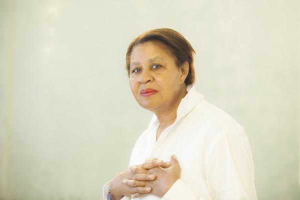 Författaren Jamaica Kincaid har skrivit sin första bok på tio år och är en av författarna på Stockholm Literature.