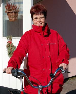 Cykelentusiast. –Jag trivs med att cykla och när det handlar om nöjesresor åker jag gärna båt, berättar Annkristin Näsholm. Foto: Kent Olsson