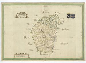 I slutet av 1600-talet fick lantmätare i uppgift att upprita landskaps- och länskartor, så kallade