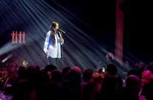 Loreen uppträdde under SBA-galan.