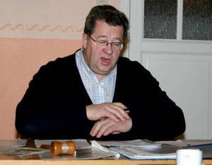 Tage Påhlsson centerpartiets oppositionsråd i Ånge kommun.