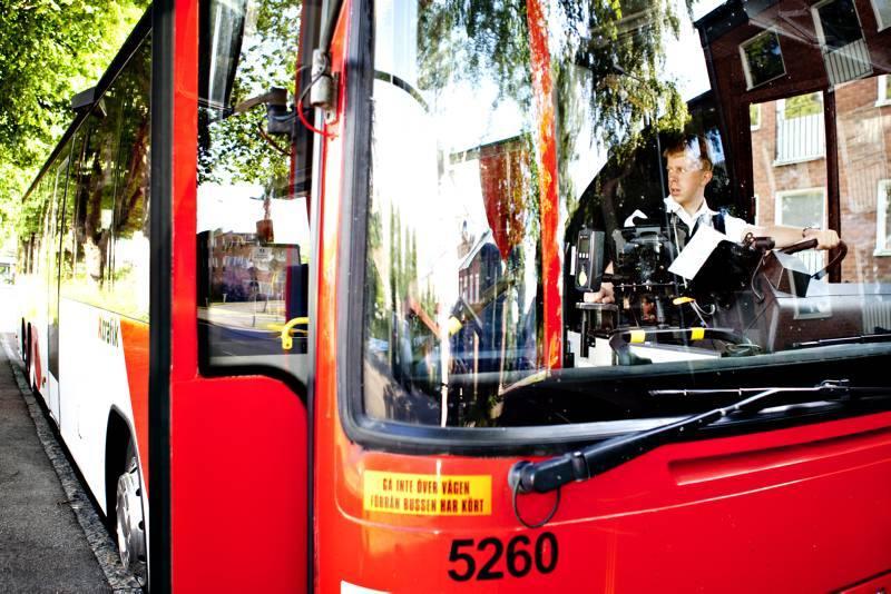 Varannan buss ar trafikfarlig