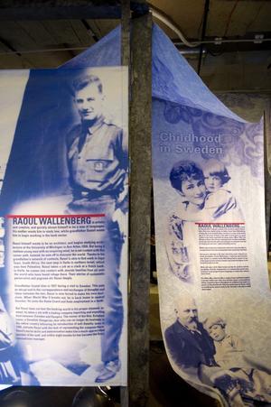 En svensk hjälte. UD, Svenska institutet och Forum för levande historia står bakom Raoul Wallenberg-året 2012 och den utställning som under 2012 turnerar till minst sex länder.Foto: scanpix