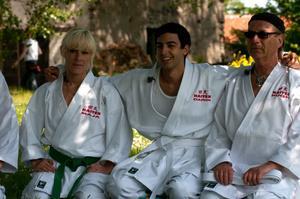 Karate står bland annat på programmet på Maja Ivarssons dag i