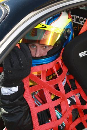 Kevin Engman är redo att dra på i Mattias Ekströms färger.