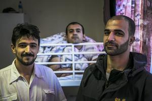 Amar Alokhla, Muhammed Jafr och Maoweyh Ramly har alla en historia att berätta. De handlar som svåra flykter genom krigsdrabbade områden för att ta sig till Europa.
