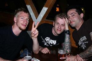 Pitchers. Chrippe, Gustav och Jose