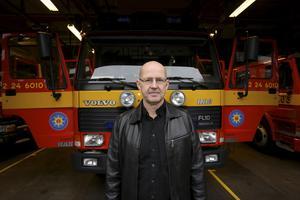 Pertti Palonto, styrkeledare på Fagerstas deltidsräddningstjänst. Han var först på plats av räddningstjänstens personal.