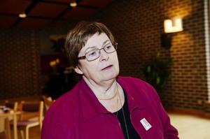 Margit Forssén, valnämndens ordförande.