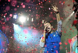 Chris Martin i Coldplay. Arkivbild.